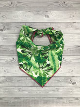 Load image into Gallery viewer, Green Leaf Bandana