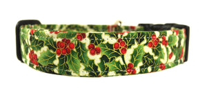 Green Ivy Dog Collar