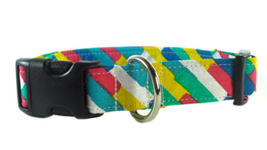 New Wave in Blue Dog Collar