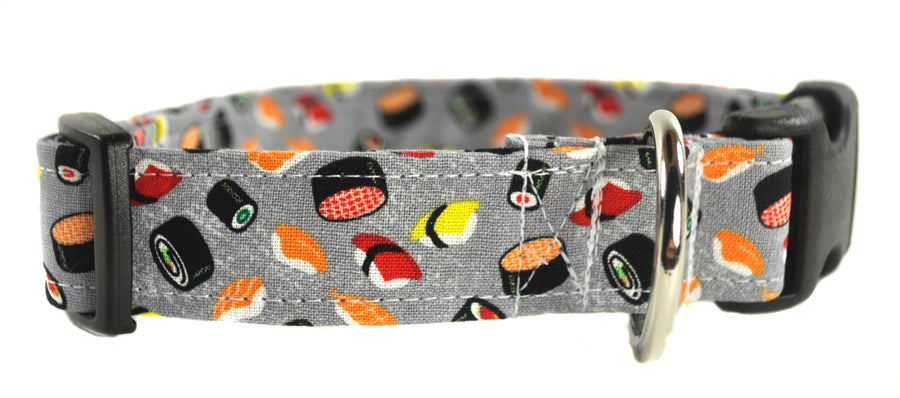 Sushi Rolls Dog Collar - Collars by Design