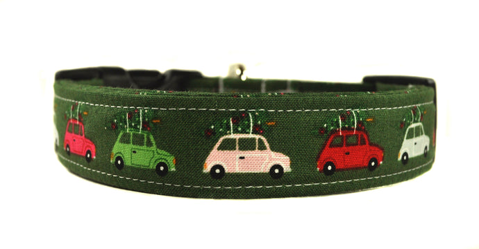 Tree Run Dog Collar