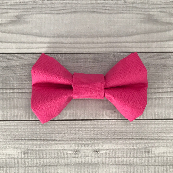 Bubblegum Dog Bow