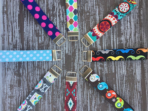 Key Fob - You Pick the Fabric - Collars by Design