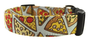 Pizza Party Dog Collar - Collars by Design