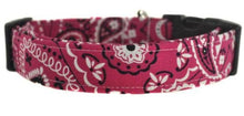 Load image into Gallery viewer, Bandana in Pink Dog Collar - Collars by Design