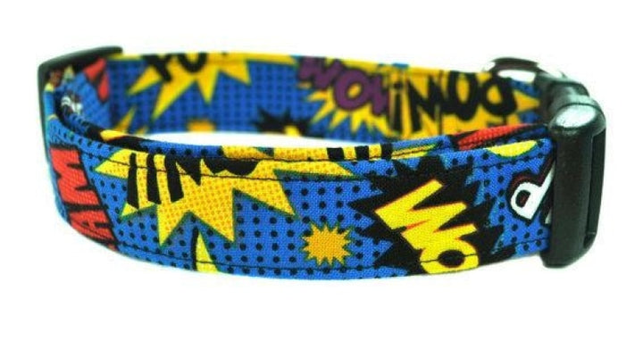 Kapow! Dog Collar - Collars by Design