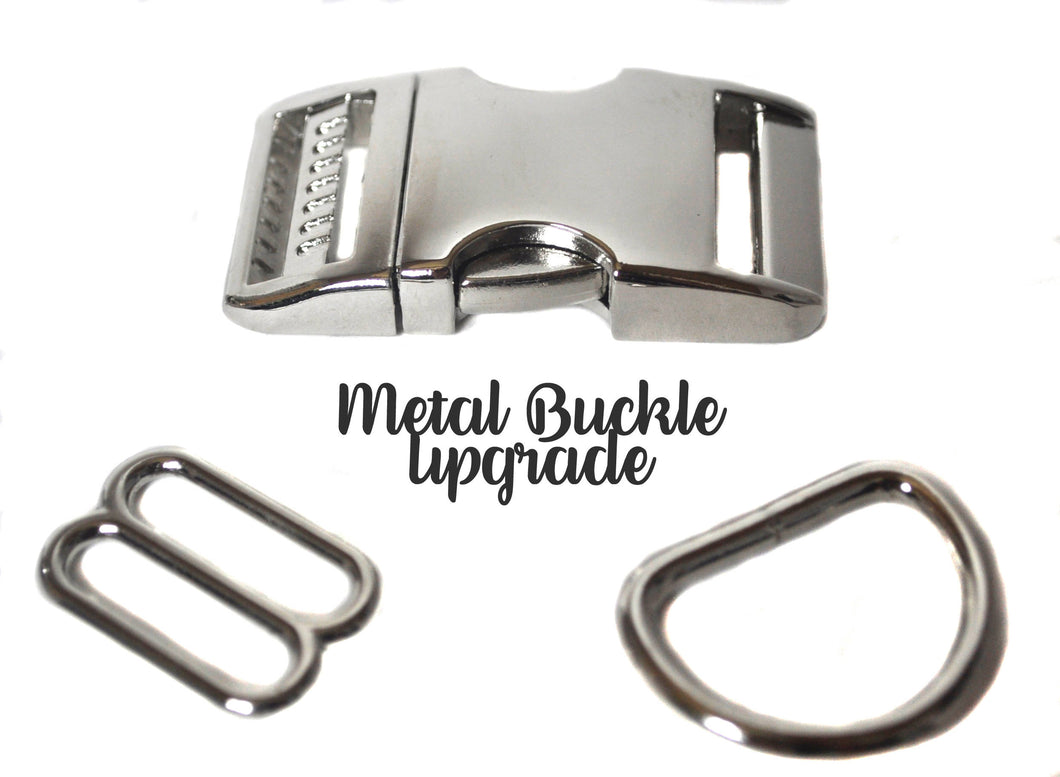 Metal Buckle Upgrade - Collars by Design