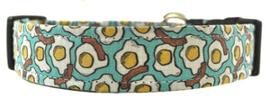 Eggs and Bacon Novelty Dog Collar - Collars by Design