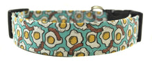 Load image into Gallery viewer, Eggs and Bacon Novelty Dog Collar - Collars by Design
