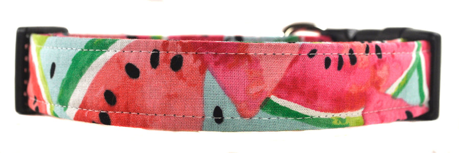Watermelon Dog Collar - Collars by Design
