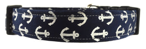 Anchors Dog Collar - Collars by Design