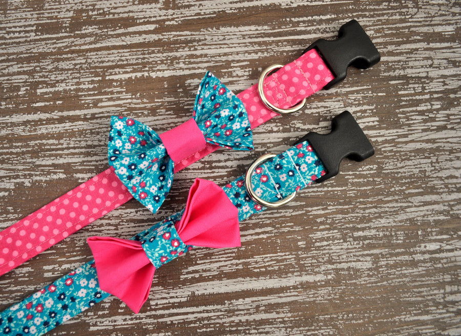 Dog Collar Bow - You Pick the Fabric - Collars by Design
