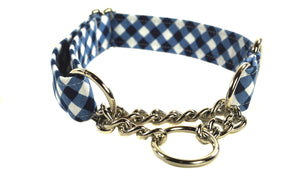 Chain Martingale Collar - You Pick the Fabric - Collars by Design