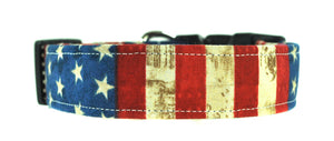 Stars and Stripes Patriotic Dog Collar - Collars by Design