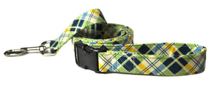 Adjustable Handle Leash to Match Your Collar - Your Choice of Fabric and Size - Collars by Design