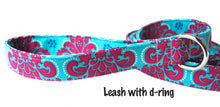 Load image into Gallery viewer, Custom Leash to Match Your Collar - Your Choice of Fabric and Size - Collars by Design