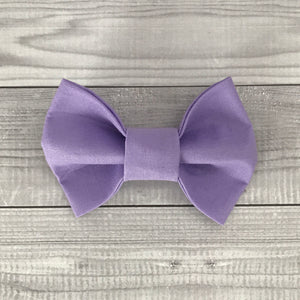 Purple Haze Dog Bow