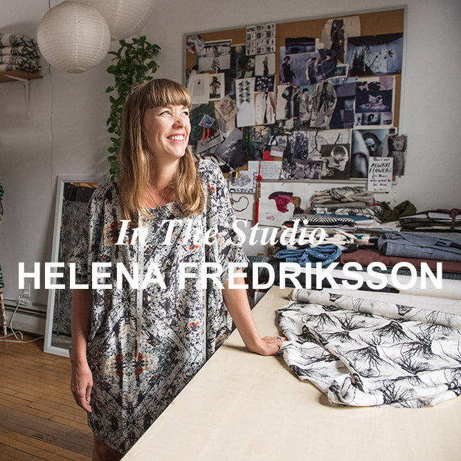 In The Studio | Helena Fredriksson