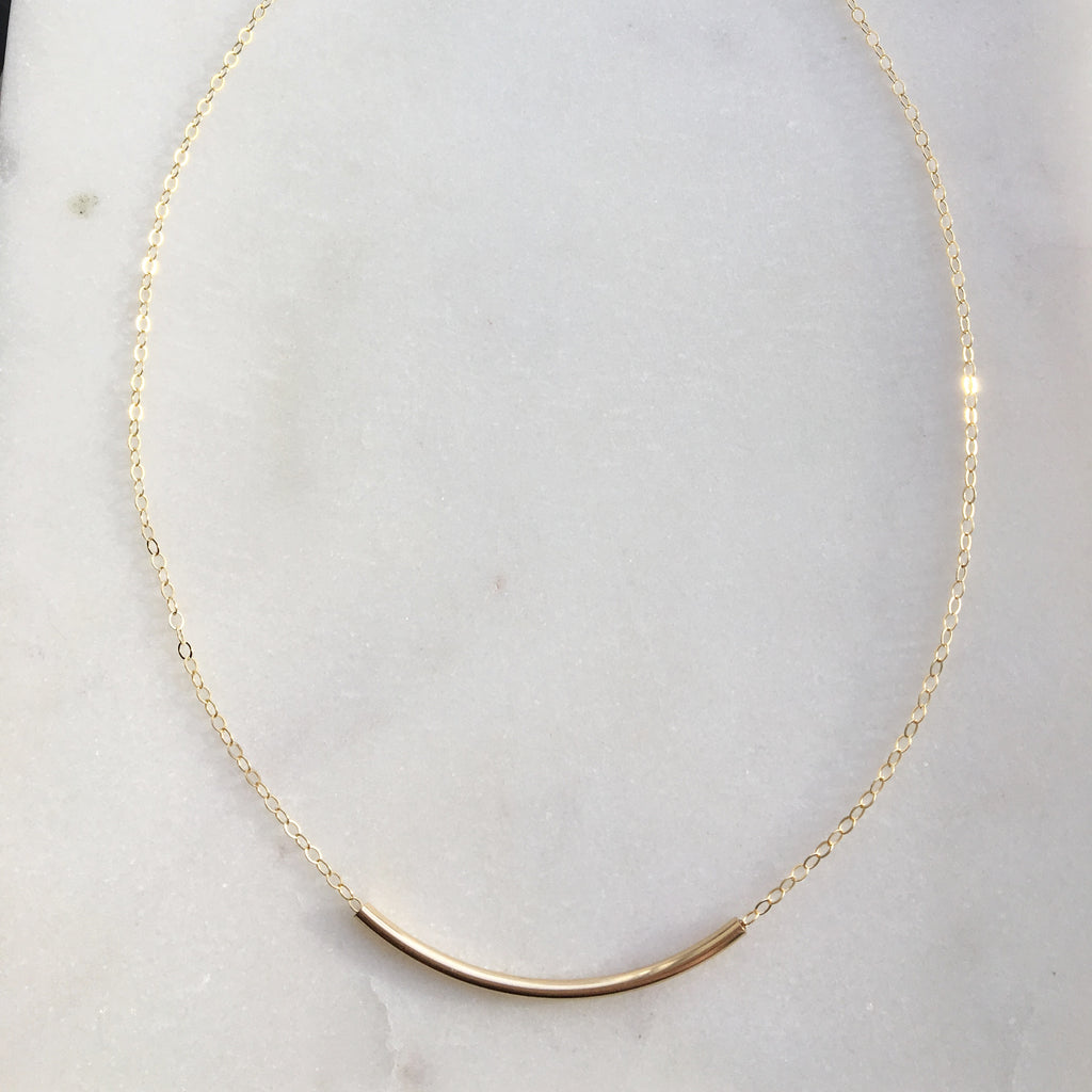 Token Jewelry Designs - Minimal Necklace
