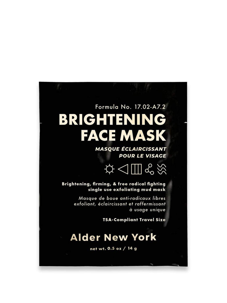 This skin firming mud mask exfoliates and brightens skin for a radiant, toned complexion. Vitamin C fights free radicals and reduces dark spots. Zinc oxide and kaolin clay smooth and tighten.