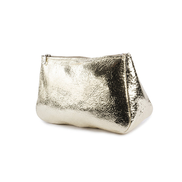 Distressed Platinum Fatty Medium Bag