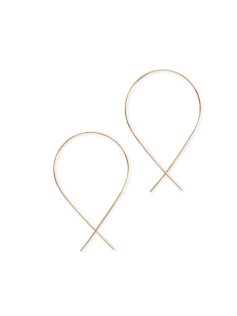 With their casual vibe and unique design, our classic Fish Earrings are the perfect modern alternative to the hoop