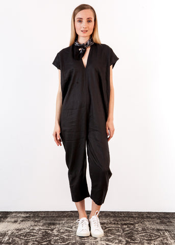Everyday Jumpsuit Linen Cotton Blend