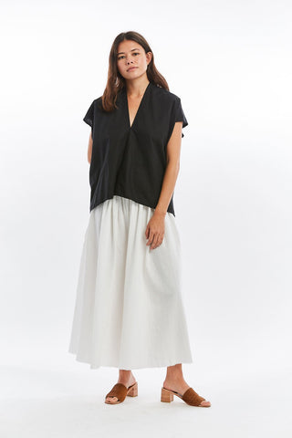 Everyday Top Linen Cotton Blend