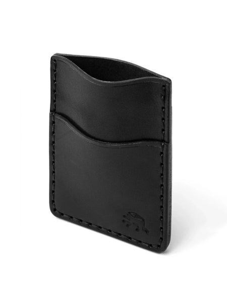 This popular style features a removable money clip and three vertical card pockets that can hold up to 9 cards.This popular style features a removable money clip and three vertical card pockets that can hold up to 9 cards. Hand stitched to ensure durability and longevity 100% leather sourced from a 150+ year old domestic tannery called Wickett & Craig. Handmade in the Todder Workshop in Newburyport, MA.