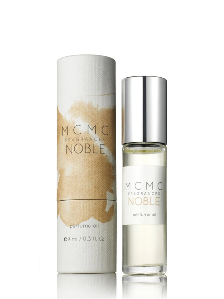 Nobel is inspired by time spent in the beautiful and spiritual country of Nepal. Combined with rich almondy notes of chai tea, burning incense, amber and musk, the jasmine-centered Noble is a long-lasting floral woody with an ethereal drydown.