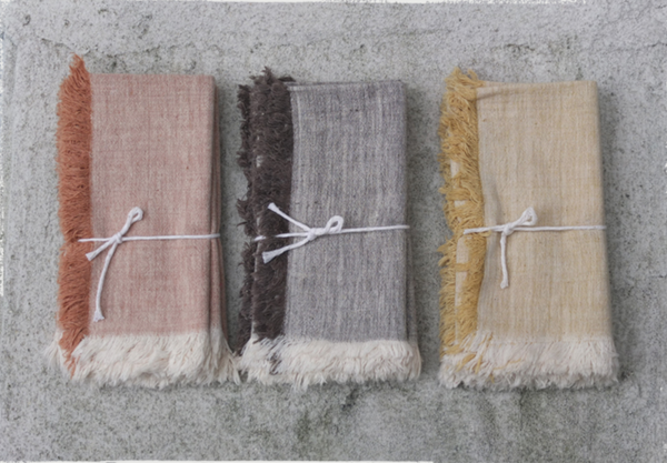 Natural Dye Napkin Set