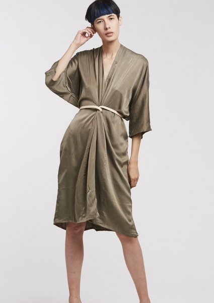 O'Keefe Dress Silk Charmeuse Lanai