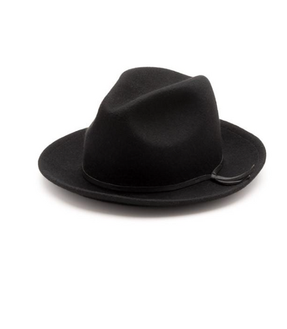 Luke Fedora Black