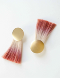 Golden Hours Earrings Ombre Sandlewood