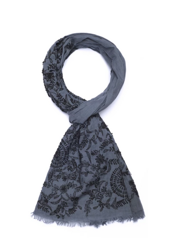 Bloom & Grey Scarf
