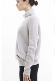 Turtleneck Pullover With Snap