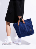 East West Tote Dark Indigo