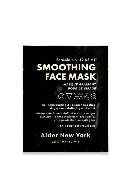 This skin rejuvenating mud mask exfoliates and fights free radicals for a smoother, even complexion. Hyaluronic acid plumps skin and reduces the appearance of fine lines. Kaolin clay smoothes and tightens. Sea kelp boosts collagen and encourage cell turnover.