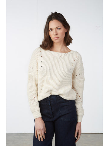 Marjorelle Round Neck Sweater