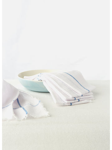 White Napkin Set