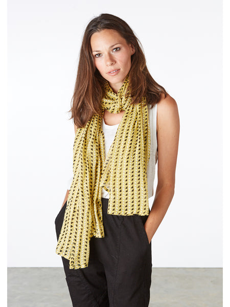 The Trinidad Mustard Scarf is hand-block printed with non-toxic, AZO-free dyes on the softest, gauziest cotton. A fresh, easy accent piece for any outfit perfect all year long. Designed in our studio, hand-block printed in Jaipur, India.
