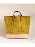 East West Bucket Tote Chartreuse