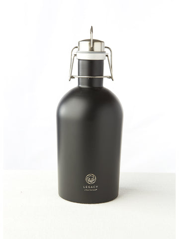 Matte Black Re-usable Growler