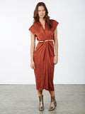 Knot Dress Silk Charmeuse Palermo