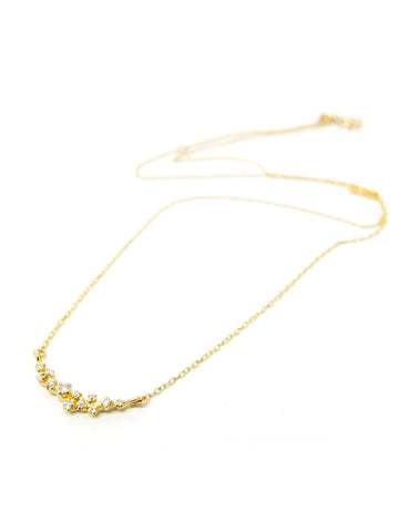 Diamond Garland Necklace