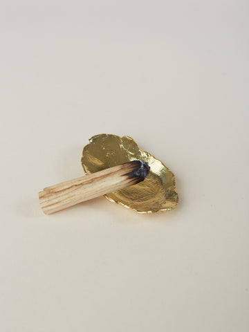 Brass Palo Santo Holder
