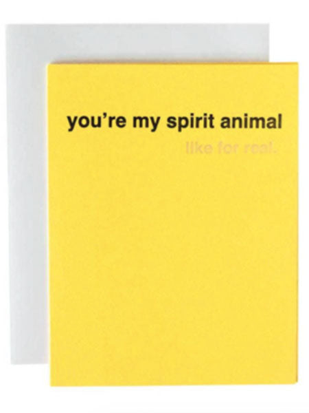 Spirit Animal Greeting Card