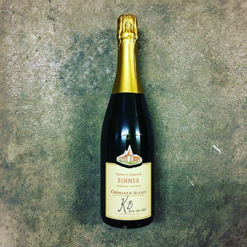Christian Binner - Cremant KB Extra Brut - Vinatur Natural Wines