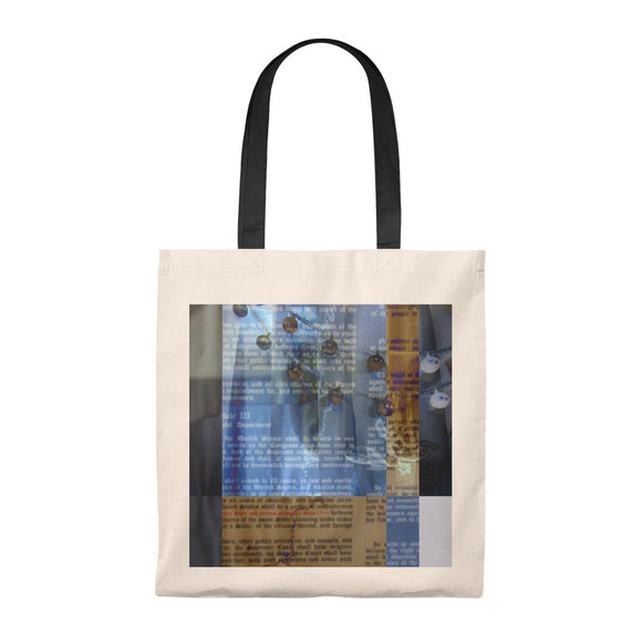 US Constitution Patriotic Tote Bag Democracy Politics Freedom Liberty Equality Container Weekender Bag Modern Art Vintage
