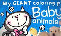 My Giant Coloring Pad: Baby Animals
